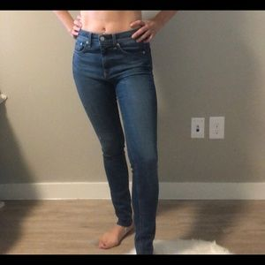 Rag and Bone high waisted jean
